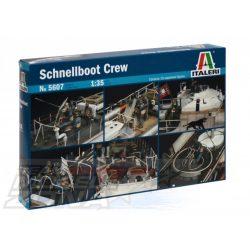 Italeri - 1:35 Figuren-Set Schnellboot Crew (10) - makett