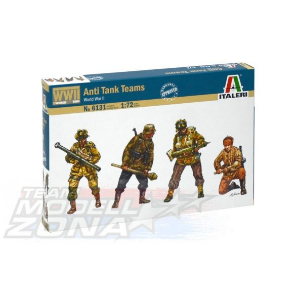 Italeri Anti Tank Teams - makett
