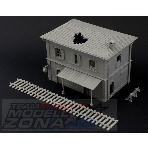 Italeri Station - makett