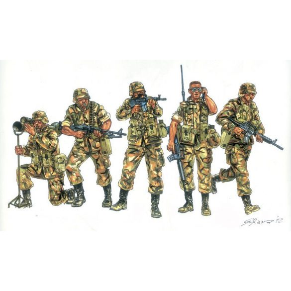 Italeri Japanese Infantry - makett