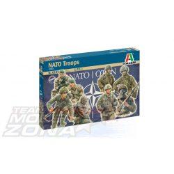 Italeri - 1:72 Fig. NATO Truppen - figura szett - makett