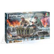 Italeri - STALINGRAD SIEGE 1942 - BATTLE DIORÁMA MAKETT SZETT