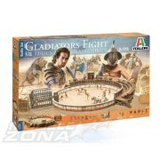 italeri - 1:72 Gladiators Fight Ludus Gladiatorius - makett