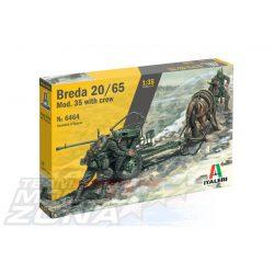 Italeri - 1:35 Breda 20/65 Mod. 35 legénységgel - makett
