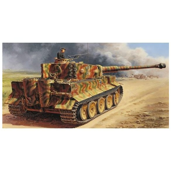 Italeri Pz. Kpfw. VI Tiger I - makett