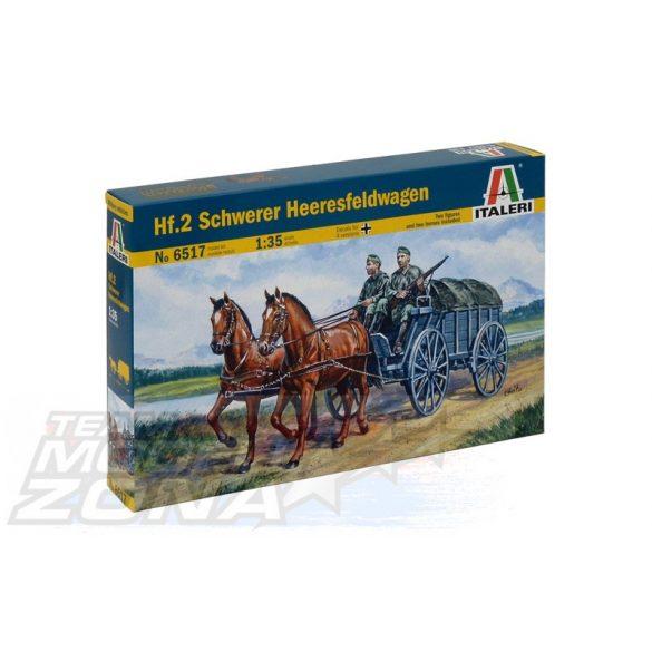 Italeri Hf.2 Schwerer Heeresfeldwagen - makett