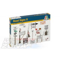 Italeri ROAD SIGNS - makett (§)