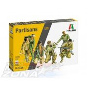 italeri - 1:35 Partisans - makett