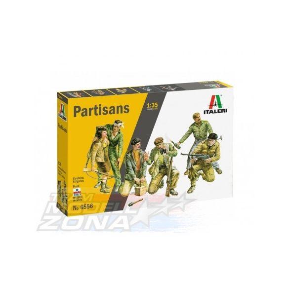 italeri - 1:35 Partisans - makett