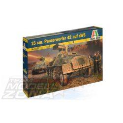 Italeri - 1:35 15 cm. Panzerwerfer 42 auf sWS - makett