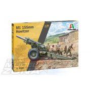 Italeri - 1:35 M1 155mm Howitzer - makett figurákkal