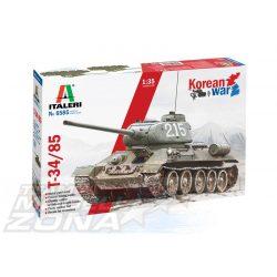 Italeri - 1:35 T-34/85 kóreai háború - makett