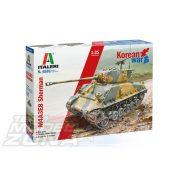 Italeri - 1:35 US M4AE8 Sherman kóreai háborús változat - makett