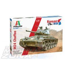 Italeri - 1:35 M24 Chaffee Korean War - makett