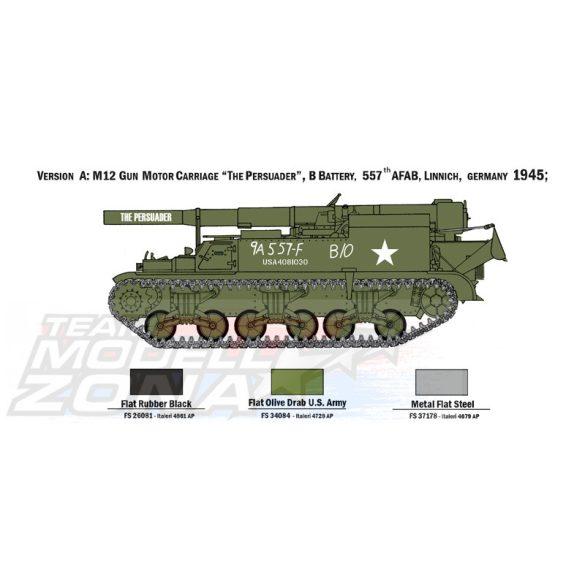 Italeri - 1:72 US M12 GMC Howitzer