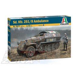 Italeri - 1:72 Sd.Kfz. 251/8 AMBULANCE - makett