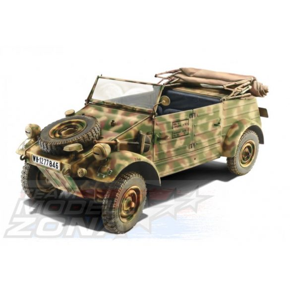 Italeri - 1:9 KDF. 1 Typ 82 Kübelwagen - makett