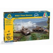 Italeri Sherman M4A3 75mm - makett
