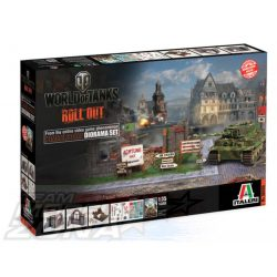 Italeri - World of Tanks - HIMMELSDORF DIORAMA SET - makett
