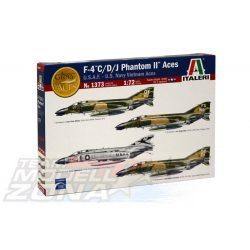 Italeri - 1:72 F-4 C/D/J Phantom Aces - makett