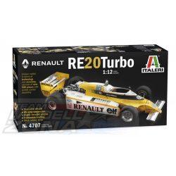 Italeri - 1:12 RENAULT RE 20 Turbo - makett
