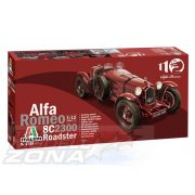Italeri - 1:12 Alfa Romeo 8C 2300 Roadster - makett