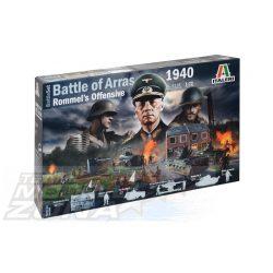 Italeri - 1:72 WWII Battle Set: Battle of Arras'40 - dioráma makett