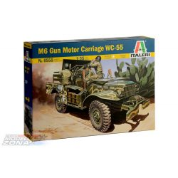 Italeri - 1:35 Dodge Anti-Tank - makett