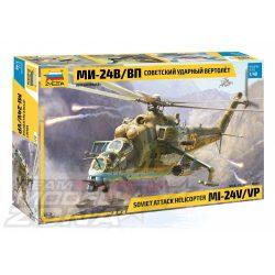 Zvezda - 1:48 MIL Mi-24V/VP(HIND)Combat - makett