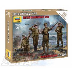 Zvezda - 1:72 második világháborús angol katona figurák