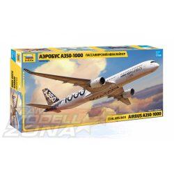 ZVEZDA - 1:144 Airbus A350-1000 - utasszállító repülő - makett