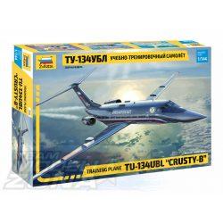 Zvezda - 1:144 Tupolew TU-134 UBL Training plane - makett