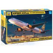 Zvezda - 1:144 Airbus A321ceo személyszállító repülő - makett