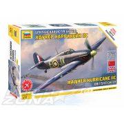 Zvezda - 1:72 Hawker Hurricane Mk II C - makett