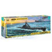 """Zvezda - """"Csuka"""" szovjet tengeralattjáró - makett"""