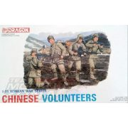 Dragon - 1:35 Chinese Volunteers - makett figurák
