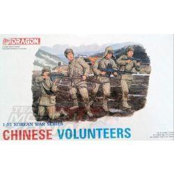 Dragon - 1:35 Chinese Volunteers - makett figurák