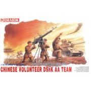 Dragon - 1:35 Chinese Volunteer DShK AA Team - makett figurák