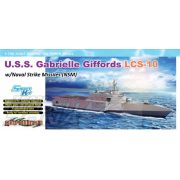 Dragon - 1:700 USS GabrielleGiffords LCS-10 w/NSM - makett