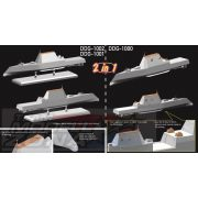 Dragon - 1:700 USS Lyndon B. Johnson DDG-1002 romboló - makett