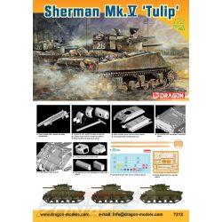 Dragon - 1:72 Sherman Mk.V 'Tulip' - makett