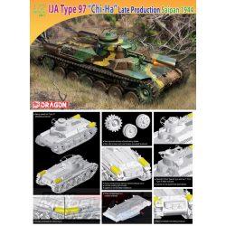 "Dragon - 1:72 IJA Type 97 ""Chi-Ha"" Saipan 1944 LP - makett"