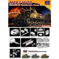 Dragon - M4A3 HVSS POA-CWS-H5 lángszóró - makett
