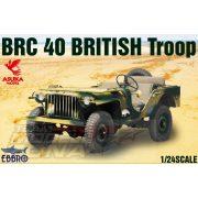 Ebbro - 1:24 BRC 40 British Troop - makett