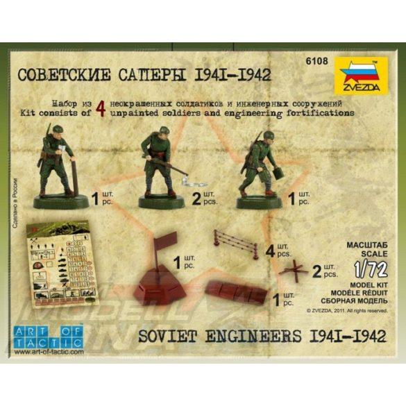 Zvezda Soviet Engineers WWII - makett