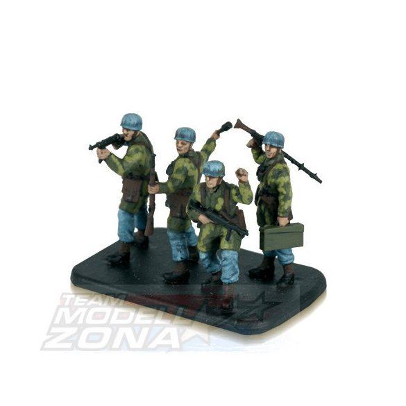 Zvezda German Paratroops - makett