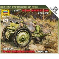 Zvezda Soviet 76-mm Gun - makett