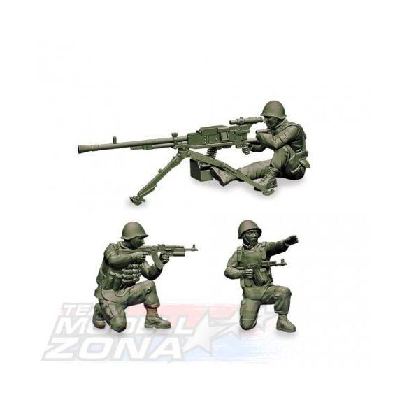 Zvezda Soviet Machine gun Utes - makett