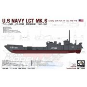 AFV Club - 1:350 US Navy LCT-50 1st Class Mk.6-2 Tank Landing Craft hajó - makett