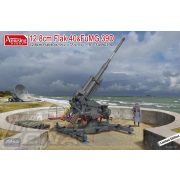Amusing Hobby - 1:35 12,8 cm Flak 40 & FuMG 39D - makett szett